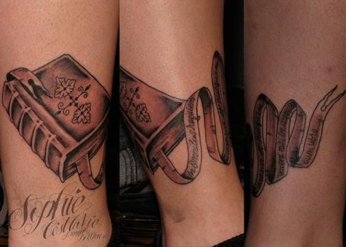 book tattoo | Eight of Swords Tattoo Tattoos Of Books