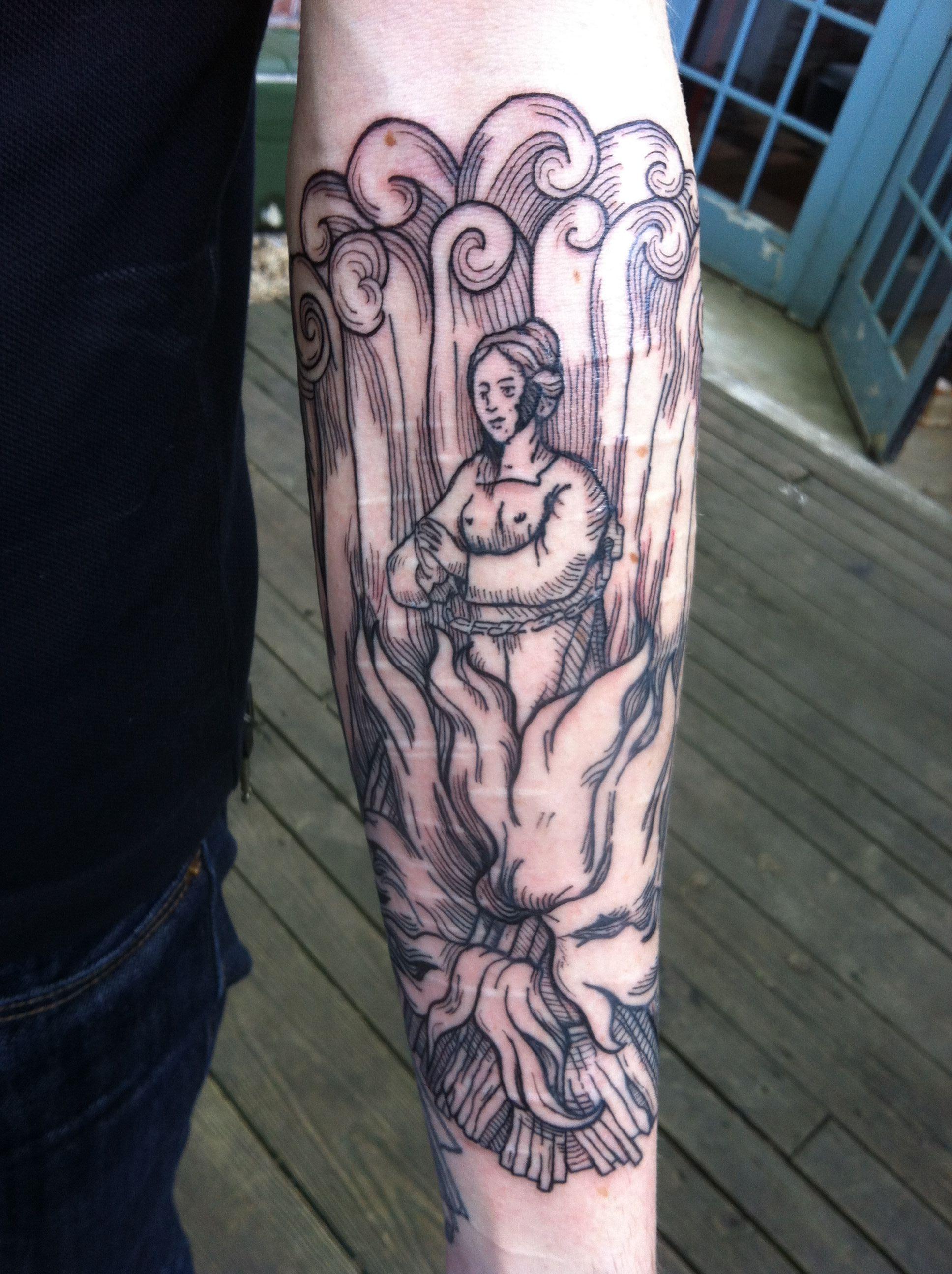 Eight Of Swords Tattoo
