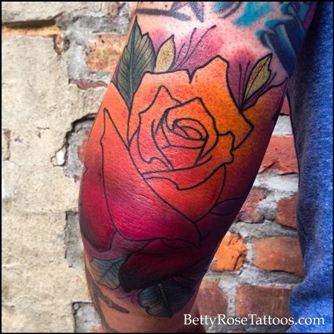 Gradient-Rose